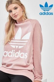 adidas Originals Pink Oversized Crew
