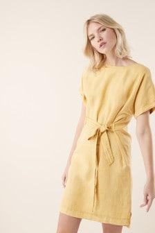 Linen T-Shirt Dress