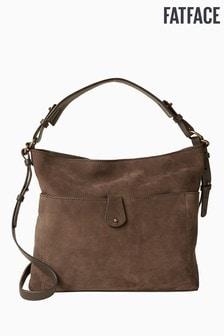 FatFace Brown Sophia Slouchy Bag