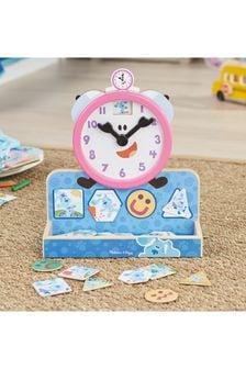 Melissa & Doug Blues Clues Tickety Tock Magnetic Clock