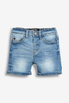 Denim Shorts With Stretch (3mths-7yrs)