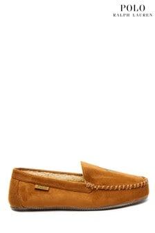 Polo Ralph Lauren Suede Slippers