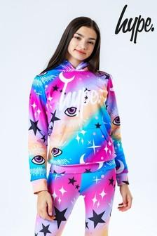Hype. Rainbow Mystic Aop Kids Pullover Hoodie