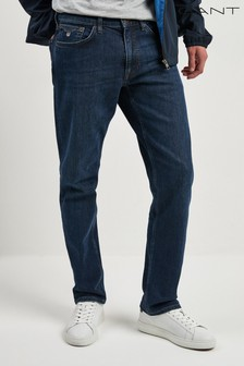 GANT Regular Dark Blue Jeans