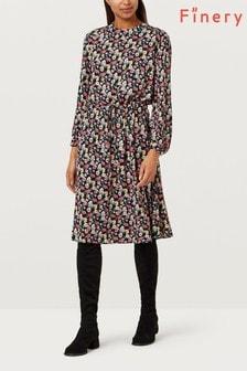 Finery London Lola Tie Waist Dress