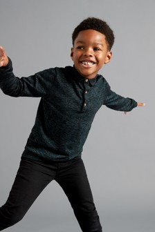 Long Sleeved Polo (3-16yrs)