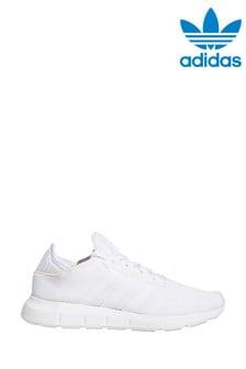 adidas Originals White Swift Run X Trainers