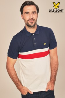 Lyle & Scott Yoke Stripe Polo