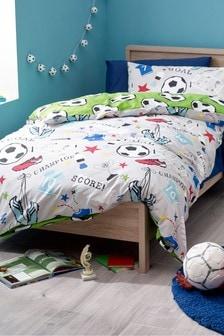 Football Duvet Cover and Pillowcase Set