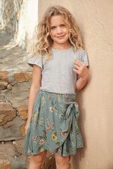 Tie Skirt Dress (3-16yrs)