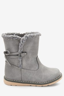 Tie Back Boots (Younger)