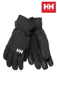Helly Hansen Black Swift Ski Gloves