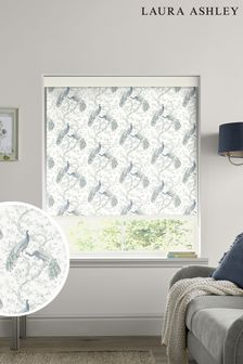 Laura Ashley Blue Belvedere Midnight Made to Measure Roller Blind