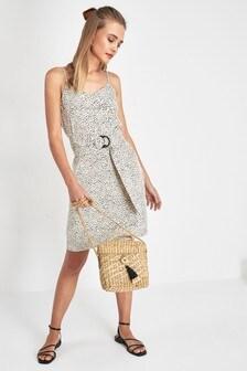 Belted Cami Dress