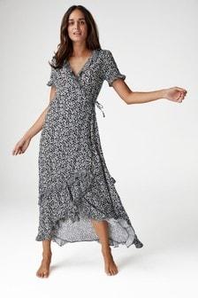 d076545d40c Frill Maxi Dress