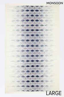 Monsoon Geometric Fade Wool Rug
