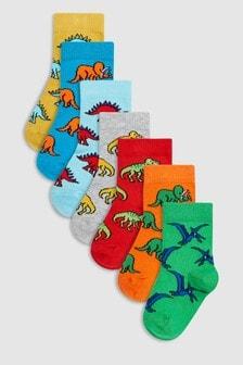 Dino Socks Seven Pack (Younger)