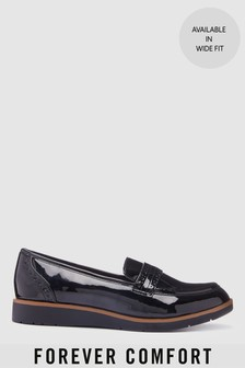 Brogue Detail Chunky Sole Loafer