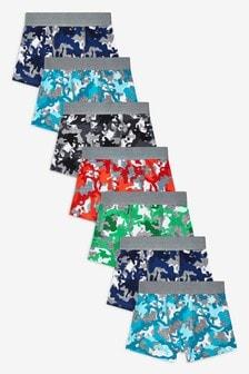 Camo Trunks Seven Pack (2-16yrs)