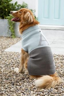 Size Medium Initial Dog Jumper