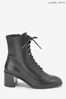 Mix/E8 Lace Up Boots