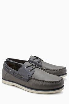 Contrast Boat Shoe