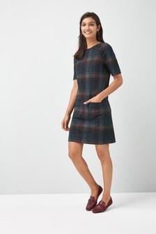 Ponte Shift Dress