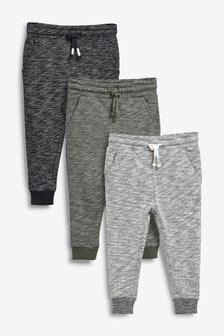 Textured Joggers Three Pack (3mths-7yrs)