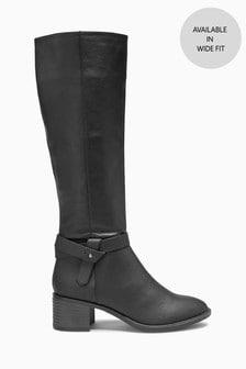 Long Zip Boots