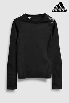 adidas Black Long Sleeve Base Layer