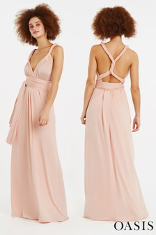 Oasis Pink Annie Multiway Maxi Dress