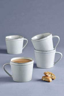 Set of 4 Country Luxe Mugs