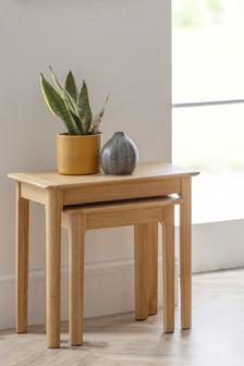 Cotswold Nest Of 2 Tables By Julian Bowen