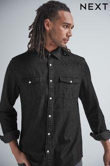 Denim Western Regular Fit Shirt