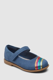 Rainbow Mary Jane Shoes (Younger)