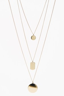 Multi Layer Pendant Necklace