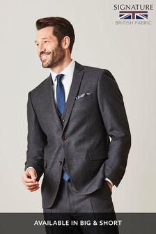 Signature British Wool Suit: Jacket