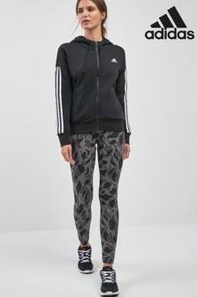 adidas Grey Essential Printed Legging