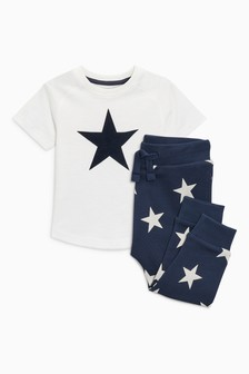 Star T-Shirt And Joggers Set (3mths-6yrs)