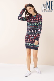 Womens Christmas Wrapping Paper Tunic