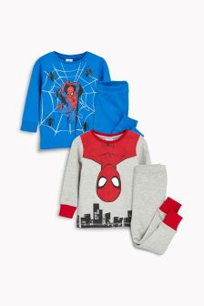 Spider-Man™ Pyjamas Two Pack (9mths-8yrs)