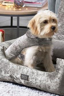 Crushed Velvet Dog Coat