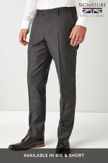 Signature British Wool Suit: Trousers