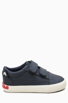 Double Strap Character Shoes (Younger)