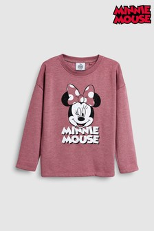 Minnie Mouse™ Crew Neck Sweat Top (3-16yrs)