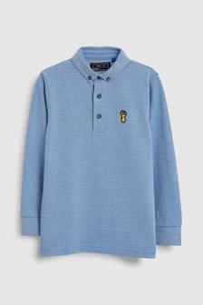 Long Sleeve Polo (3-16yrs)