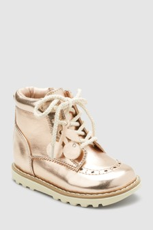 Lace-Up Boots (Younger)