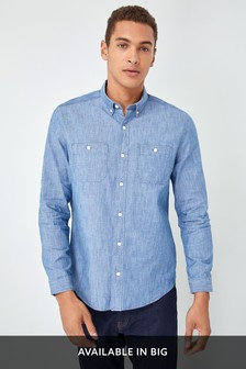 Chambray Regular Fit Shirt