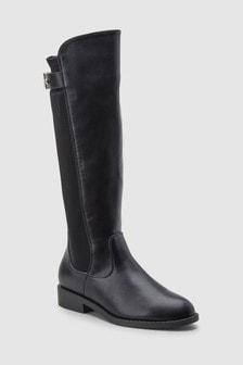 Over Knee Buckle Boots (Older)