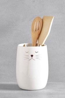 Cat Utensil Pot